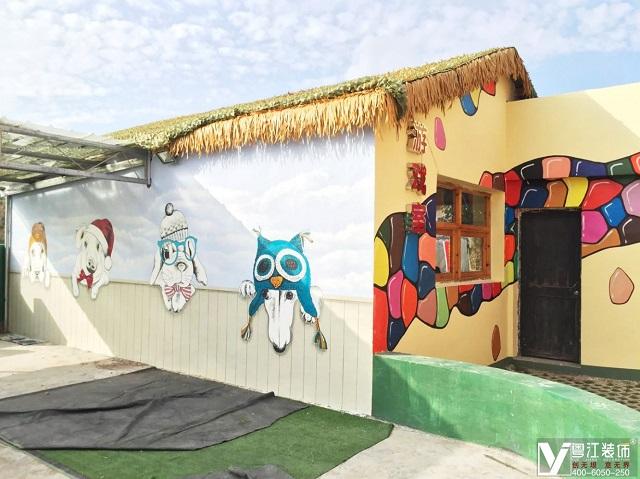 强力推荐旅游景区3d墙面彩绘