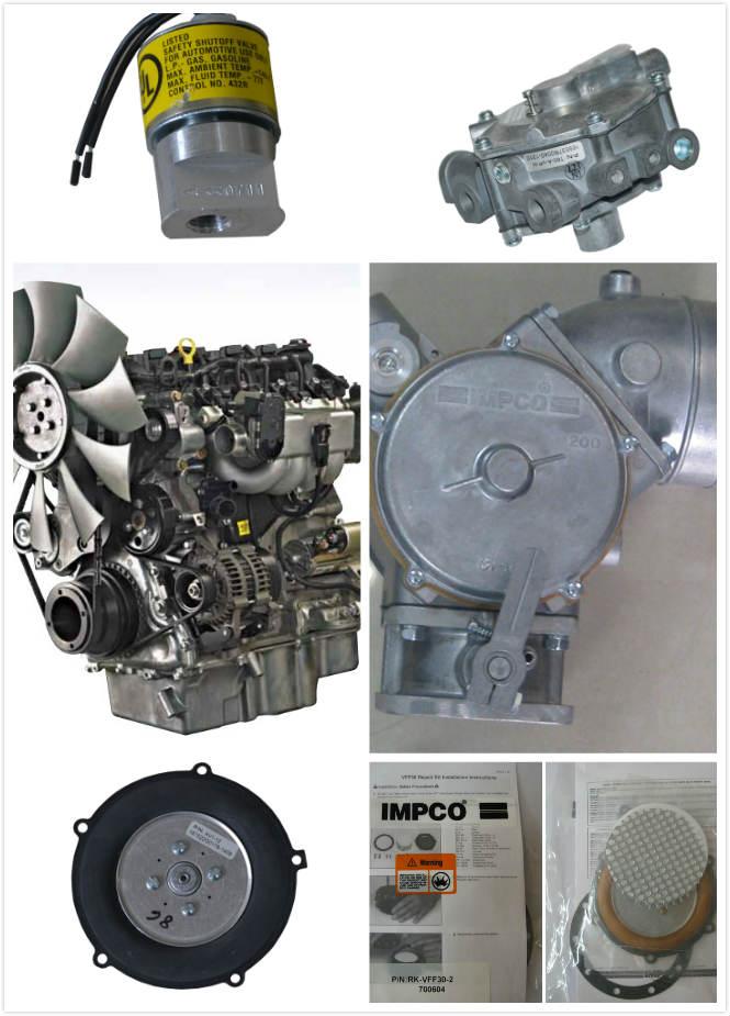 LPG液化石油氣叉車-LNG減壓器