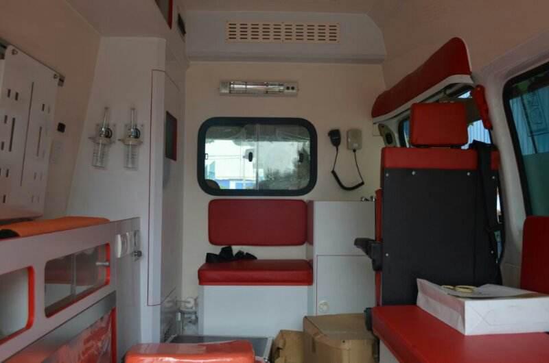宁波市市内联动救护车