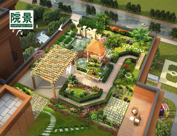 高效的庭院园林设计施工