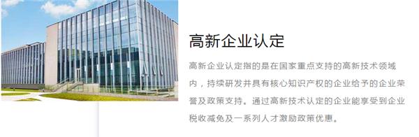 双软企业认定申报服务详情