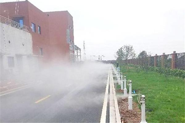 唐山煤厂砂石料场喷雾除尘哪个牌子好