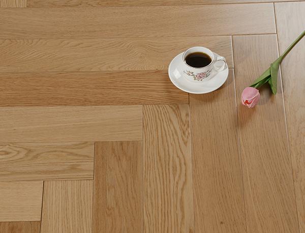 三层实木地板排骨纹