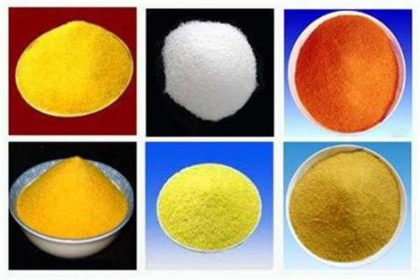 卓越的白色聚氯化铝吸收