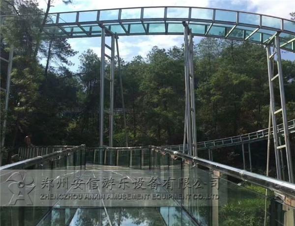 河南景区玻璃滑道设计